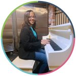 Dionne at the Piano