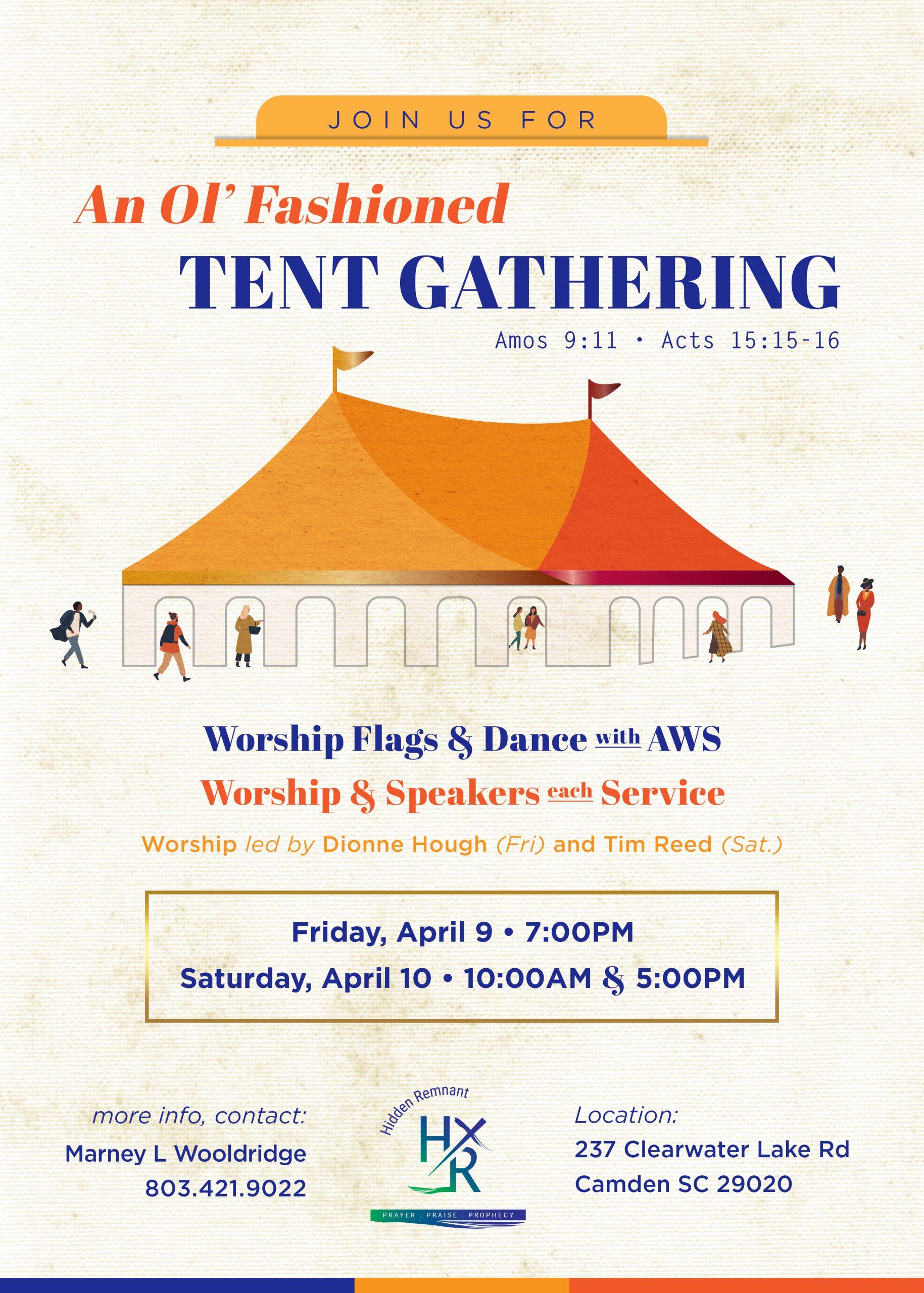 Tent Gathering